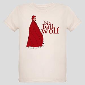 Red Riding Hood Big Bad Wolf Organic Kids T-Shirt