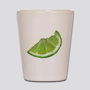 lime wedge Shot Glass