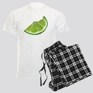 lime wedge Men's Light Pajamas