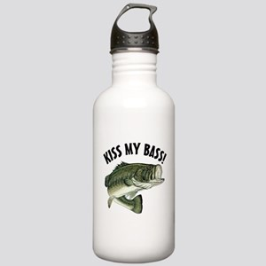 Kiss My Bass Stainless Water Bottle 1.0L