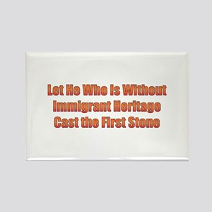 Immigrant Heritage Rectangle Magnet