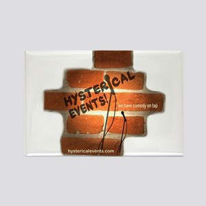 Hysterical Events Rectangle Magnet