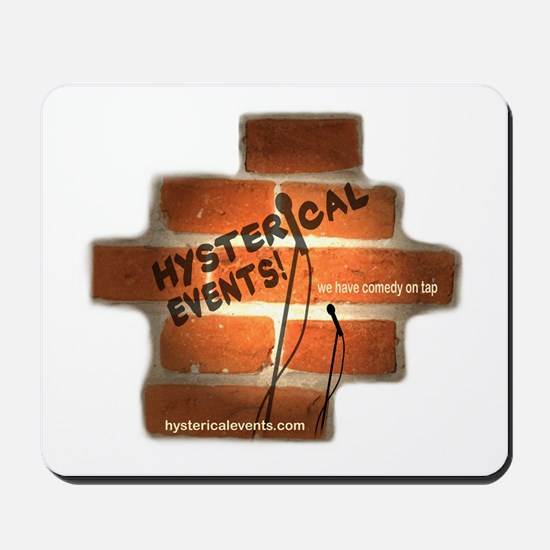 Hysterical Events Mousepad
