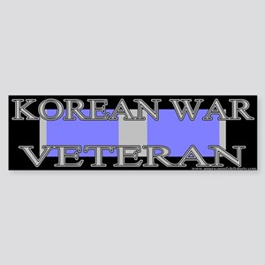 Korean Service Ribbon Bumper Sticker