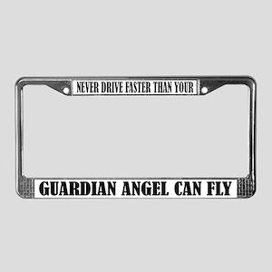 Guardian Angel License Frame