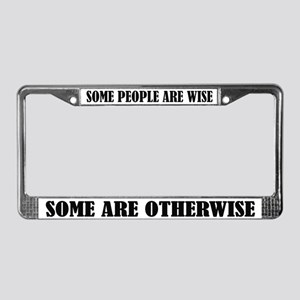funny sayings license plate frames cafepress