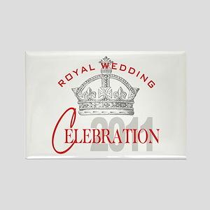 Royal Wedding Celebration Rectangle Magnet