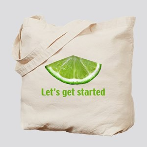 Let's get started Tote Bag