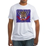 Lion of Judah 7 Fitted T-Shirt