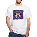Lion of Judah 7 White T-Shirt