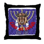 Lion of Judah 7 Throw Pillow