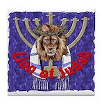 Lion of Judah 7 Tile Coaster