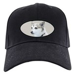 Norwegian Lundehund Black Cap with Patch