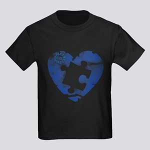 PIECE OF MY HEART Kids Dark T-Shirt