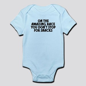 Amazing Race Snacks Infant Bodysuit