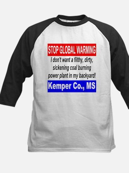 Stop Global Warming Kemper Co. MS Kids Baseball Je