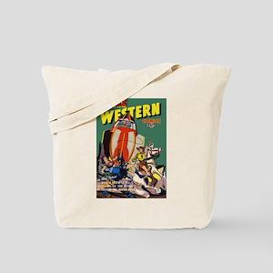 $19.99 Space Western Tote Bag
