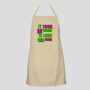 It took 56 years to look this Apron