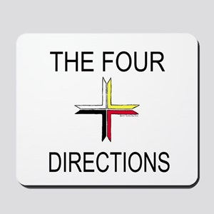 """""""The Four Directions"""" Mousepad"""