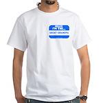 I'm the great-grandpa White T-Shirt