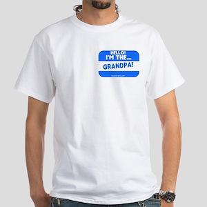 I'm the grandpa White T-Shirt