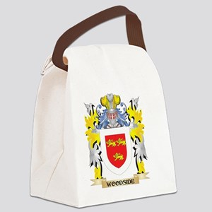 Woodside Family Crest - Coat of A Canvas Lunch Bag