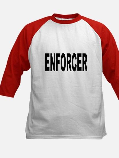 Enforcer Law Enforcement (Front) Kids Baseball Jer