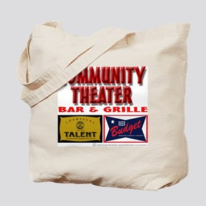 Community Theater Bar and Grille Rehearsal Bag