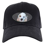 Clumber Spaniel Black Cap with Patch