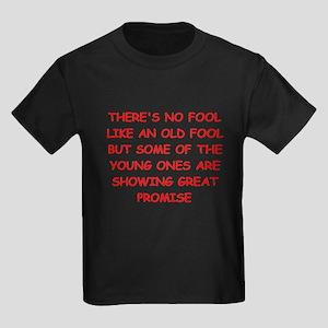 fools Kids Dark T-Shirt