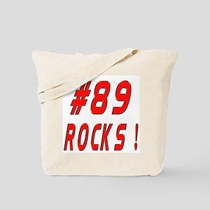 89 Rocks ! Tote Bag