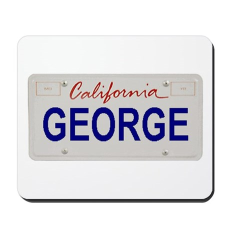 California George Mousepad