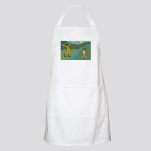 David and Goliath BBQ Apron