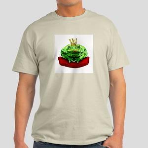 Prince Charming Frog Ash Grey T-Shirt