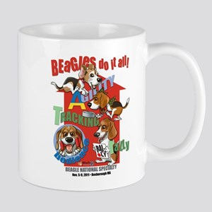 Beagles Do It All Mug