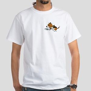 Beagles Do It All White T-Shirt