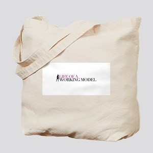 Life Of A Working Model Tote Bag