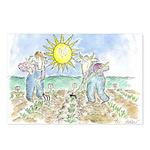 """Two Farmers"" by Ed Koren (8 Postcards)"