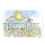 """Two Farmers"" by Ed Koren (8 Postcards)"