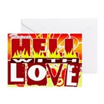 From hell Greeting Cards (Pk of 20)