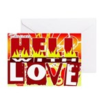 From hell Greeting Cards (Pk of 10)
