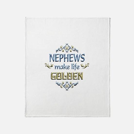 Nephew Sentiments Throw Blanket