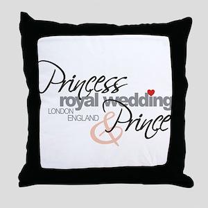 Royal Wedding London England Throw Pillow