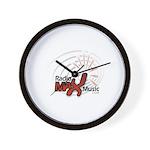 RadioMax Logo Wall Clock