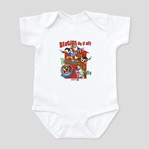 Beagles Do It All Infant Bodysuit