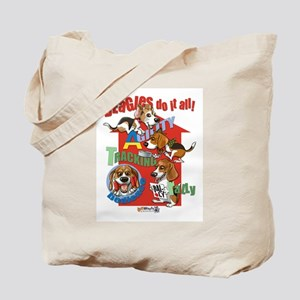 Beagles Do It All Tote Bag