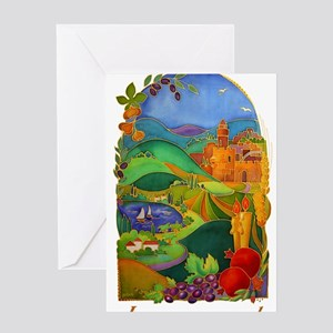 Land Of Israel Greeting Cards