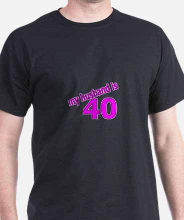 Funny Husband Is 40 Gifts T-Shirt