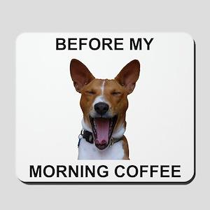 Coffee Yawn Mousepad