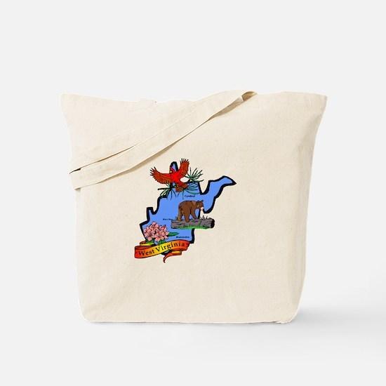 West Virginia Tote Bag